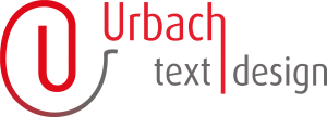 URBACH text+design Logo